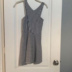 Hollister fit and flare dress